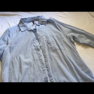 HM Pinstriped Button Up 14